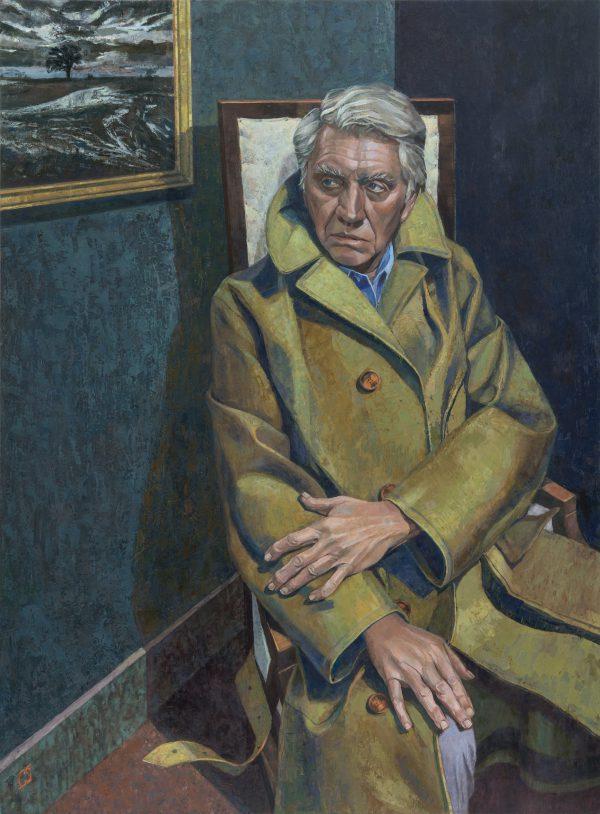 Don McCullin, Oil on Canvas, 117 x 86.5 cm (courtesy of the Holburne Museum)