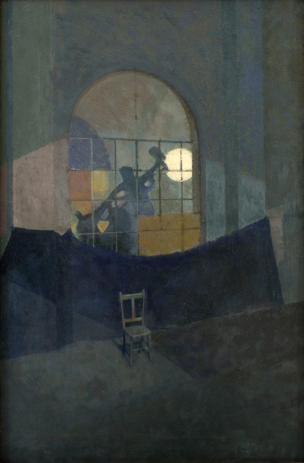 Liferoom, Oil on Canvas, 80 x 53 cm
