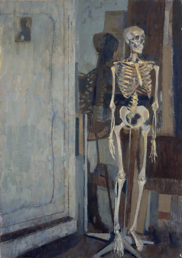 Studio, Oil, Linen on Panel, 60 x 41 cm