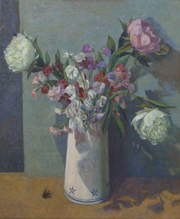 Love Song II, Oil, Linen on Panel, 56 x 46 cm