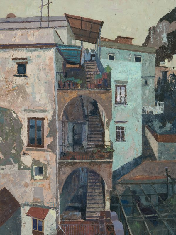 Amalfi, Day, Oil on Gesso Panel, 40 x 30 cm
