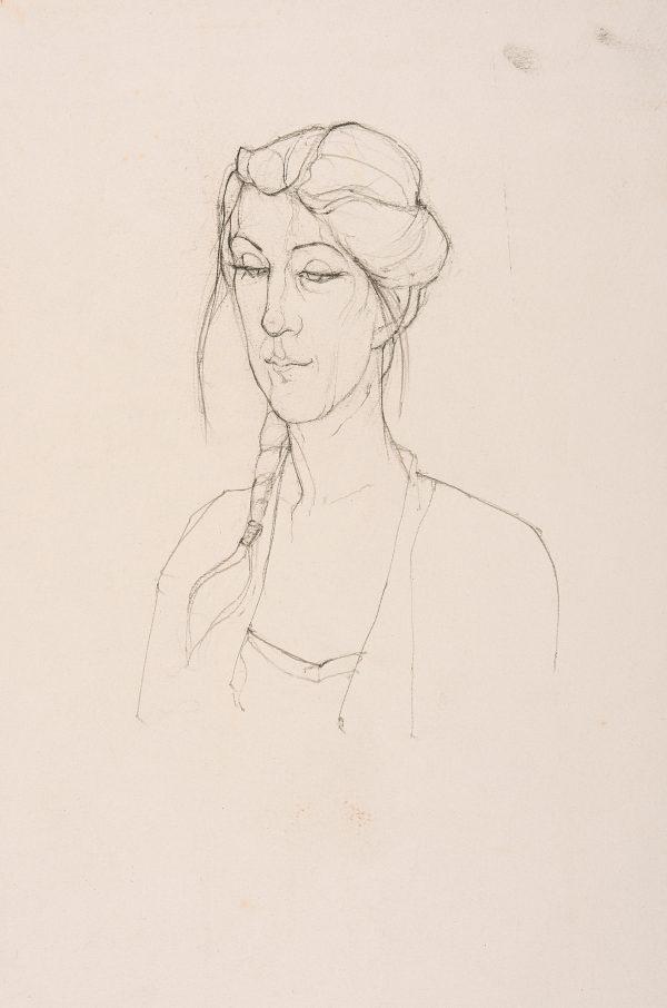 Elham, Graphite, 59 x 42 cm