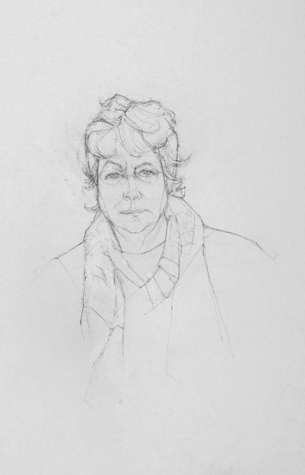Nikki, Graphite, 59 x 42 cm