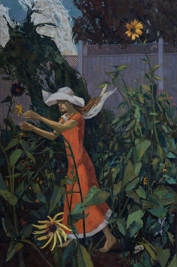 Persephone, Oil on Linen, 91 x 61 cm