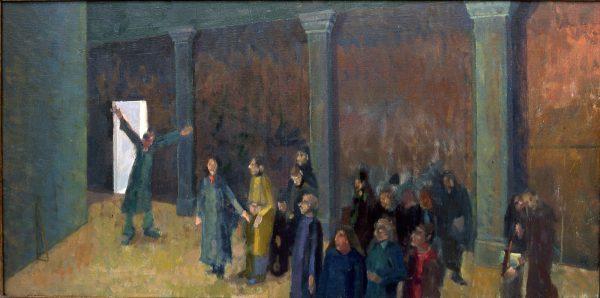 Stranger, Oil on Linen, 45 x 90 cm